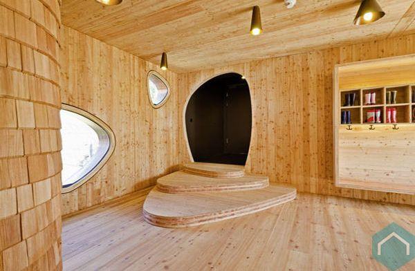 houten leien