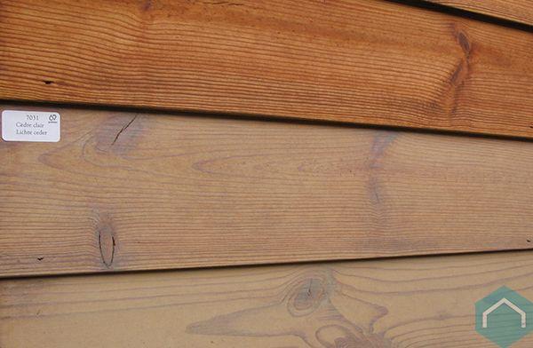 Houten terras gevel tuinmeubelen behandelen producten ecomat - Interieur gevelbekleding houten ...
