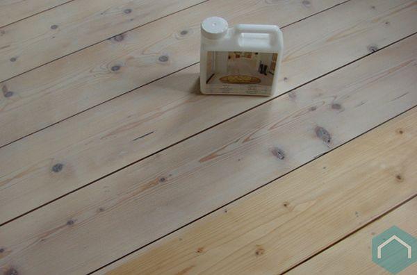 Witte Grenen Vloer : Faxe scandinavische houtbehandeling producten ecomat