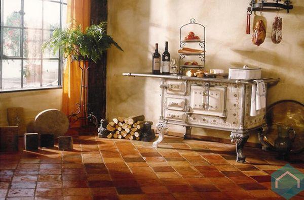 """Résultat de recherche d'images pour """"interieur met terracotta vloer"""""""