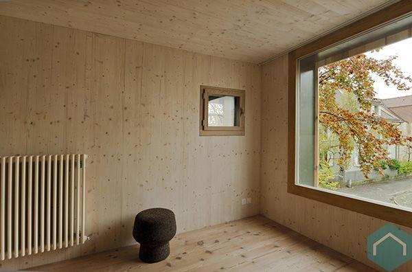 Houten wanden plafonds producten ecomat - Houten lambrisering plafond badkamer ...