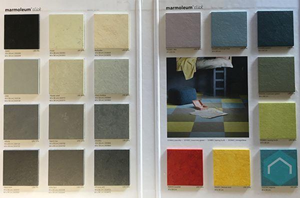 Marmoleum vloeren & linoleum furniture producten ecomat