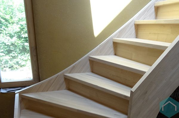 Houten vloeren trappen behandelen producten ecomat for Houten trap behandelen