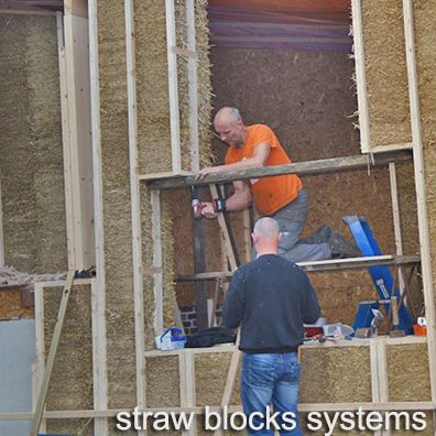 kijkdag werf Straw Blocks Systems
