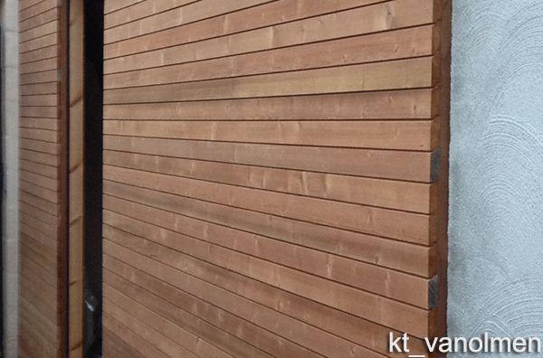 Nieuw houten gevelbekleding - Producten | Ecomat ZF-56